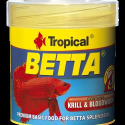 TROPICAL BETTA (Speciális színfokozó táp sziámi harcoshalnak) 50ml