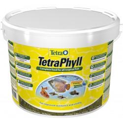 Tetra Phyll Flakes 1000ml- magas spirulina tartalmú prémium lemezes díszhaltáp