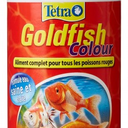tetra goldfish colour flakes 100ml