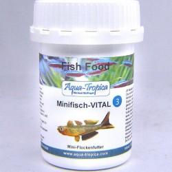 "Aqua-Tropica Minifisch- Vital ""3"" 20 g- lemezes díszhal eleség"