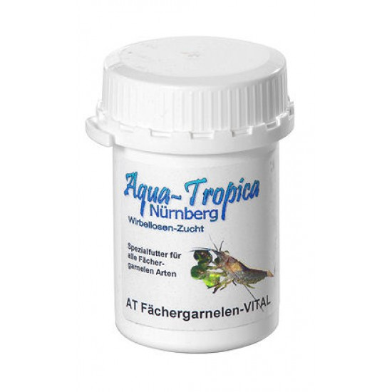 Garnélatáp- Aqua-Tropica Fachergarnelen- Vital 40 g- speciális garnélatáp, legyező garnéláknak