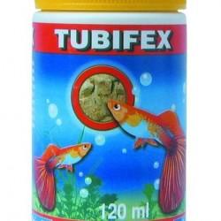 Haltáp-Bio-lio Tubifex  liofilizált kocka - szárított tubifex 120 ml / 12g