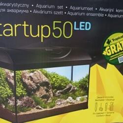 Akvárium szett -Diversa Komplett akvárium LED 50- 37 Literes, szögletes