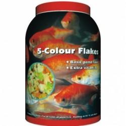 Velda 5-Colour Flakes 1500ml (Lemezes haltáp, rovarokkal dúsítva)