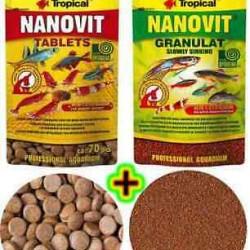 Tropical Nanovit Tablets - tablettás eleség -10g, 70 db-os