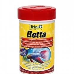 Tetra Betta 100ml- betták számára haltáp - szemcsés haltáp